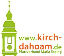 kirch dahoam Pfarrverband Maria Tading Logo