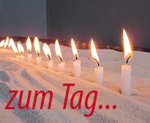 Impuls Spiritualität zum Tag Kerzen