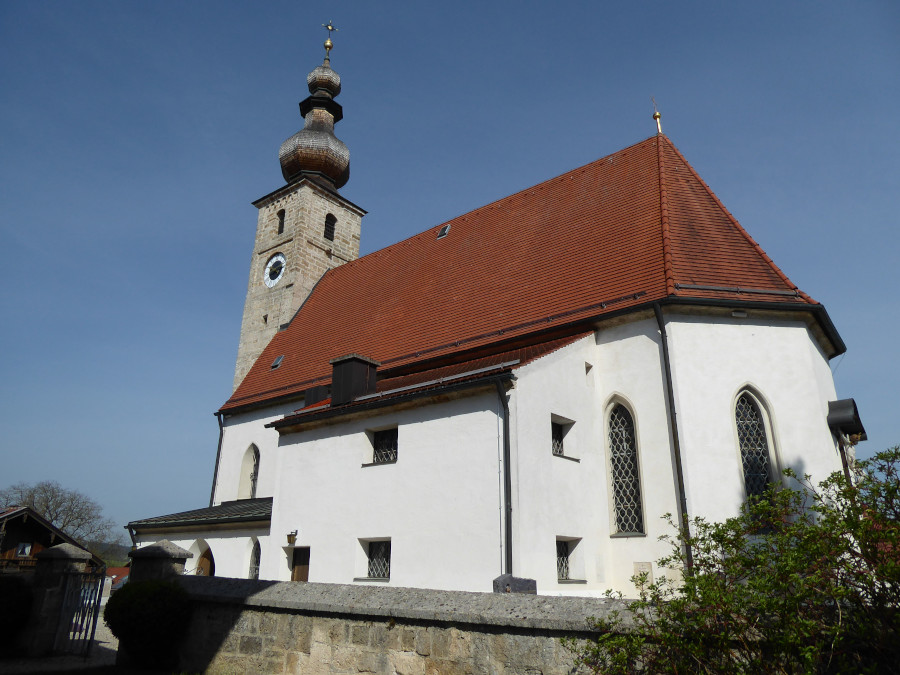 Kirche St. Vitus von außen