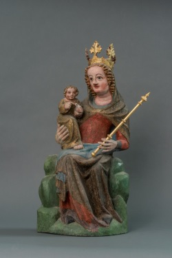 Airischwand, St. Syvester, Maria mit Kind_