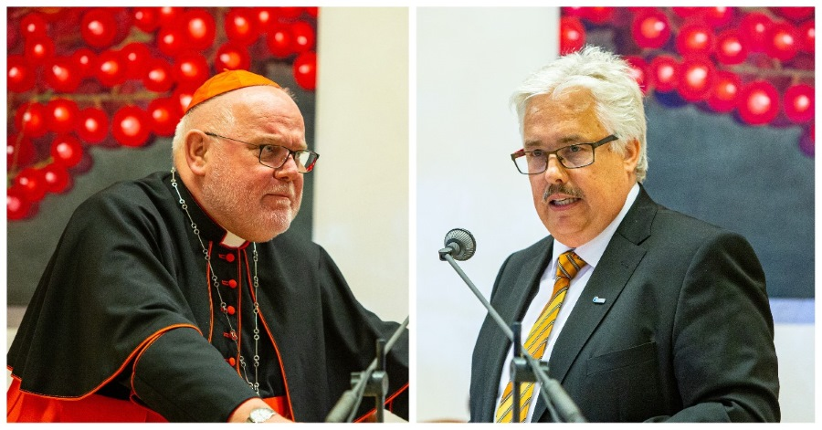 Kardinal Marx und Prof. Hans Tremmel