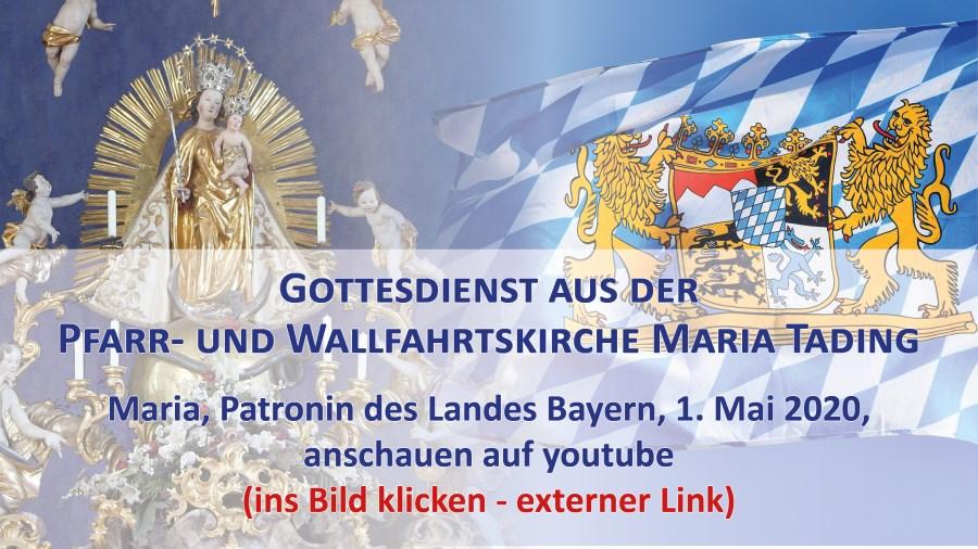 Pfarrverband Maria Tading Gottesdienst Übertragung Pfarrkirche Wallfahrtskirche kirch dahaom