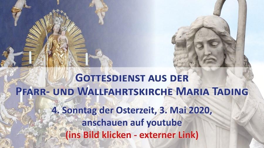 Gottesdienst Übertragung Maria Tading Pfarrkirche Wallfahrtskirche kirch dahoam