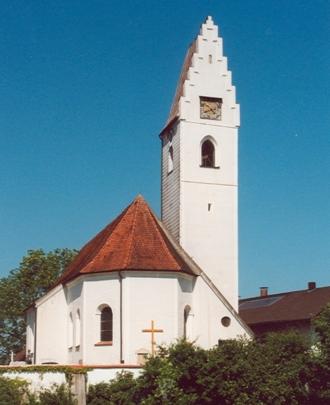 Kirche Rettenbach außen