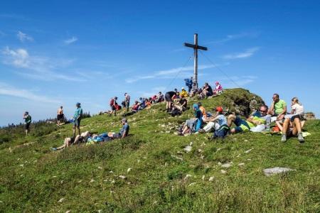 Gipfelkreuz_Gruppe