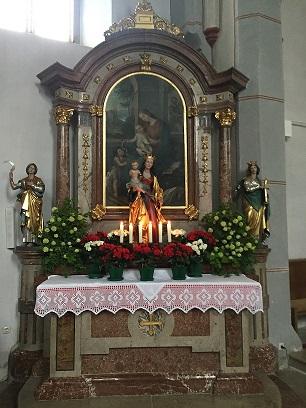 Seitenaltar Otting St. Stephanus