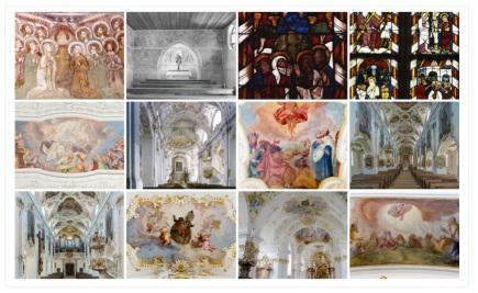 Zeigt eine Beispielübersicht für Bildergalerien