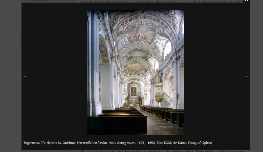 Zeigt eine Beispielhafte Einzelansicht des Bildergalerie-Moduls
