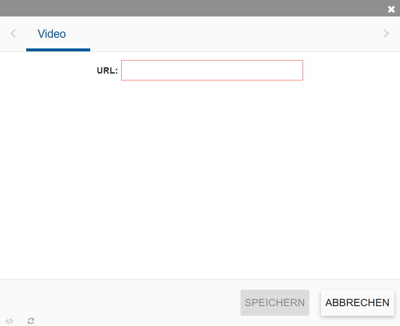 Zeigt das Slider-Video Modul.