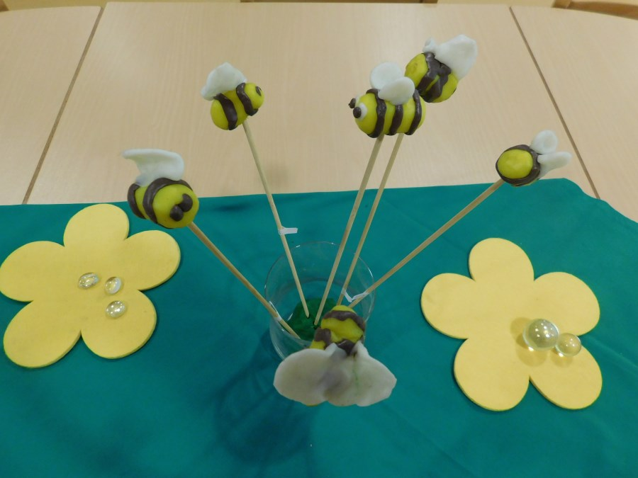 Bienen Orange Gruppe