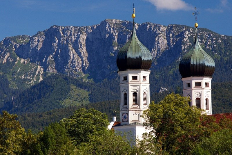 Klostertürme von Benediktbeuern