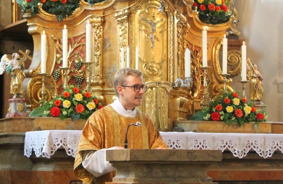 Tobias Predigt Saaldorf