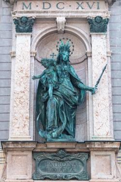 Patrona Bavariae an Residenz