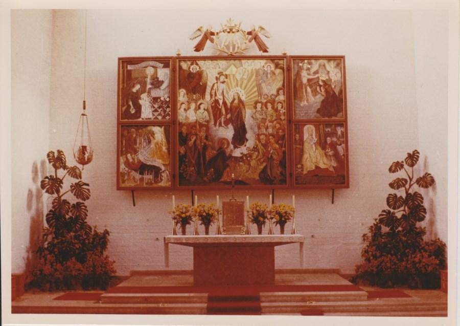 1954 01 31 Altarbildweihe offen
