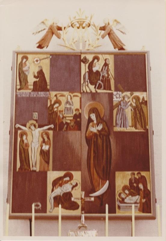 1954 01 31 Altarbildweihe zu