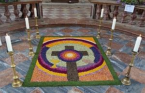 Blumenteppich Fronleichnam