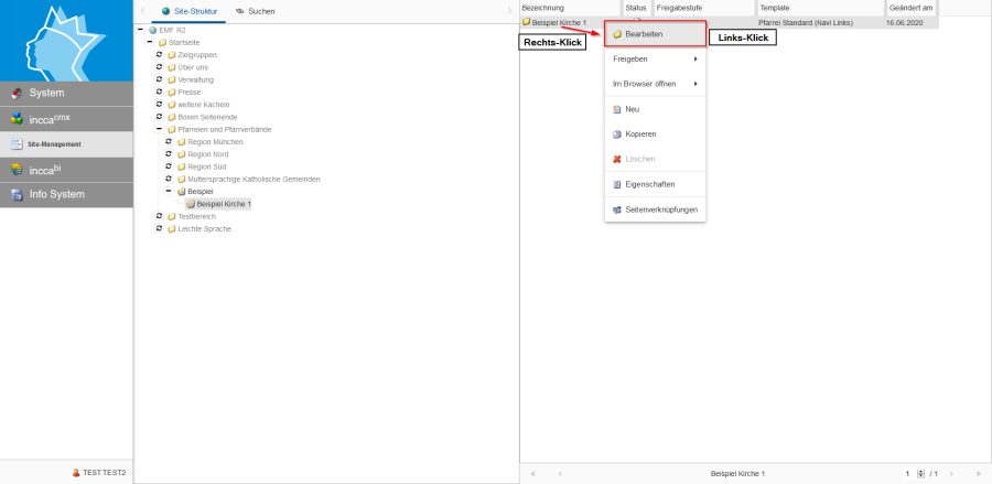 Bildserie zeigt Anleitung um eine Webseiten zu Verknüpfen und eine Datei zum Download anzubieten. (10)