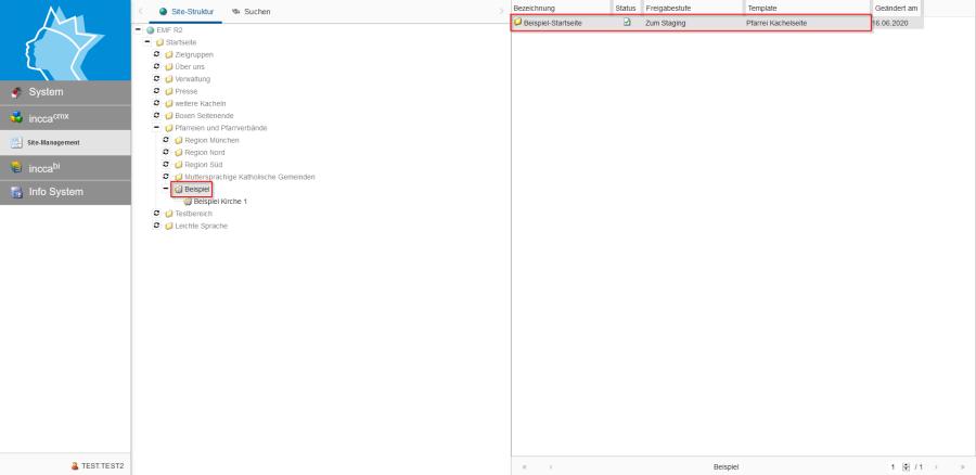 Bildserie zeigt Anleitung um eine Webseiten zu Verknüpfen und eine Datei zum Download anzubieten. (Ausgangspunkt mit Markierung)