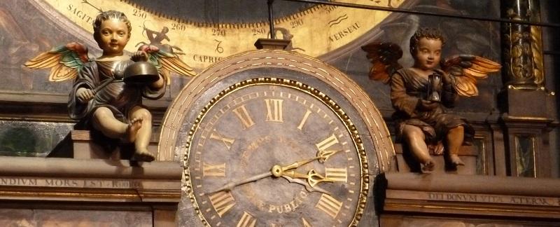 Uhr Straßburger Münster