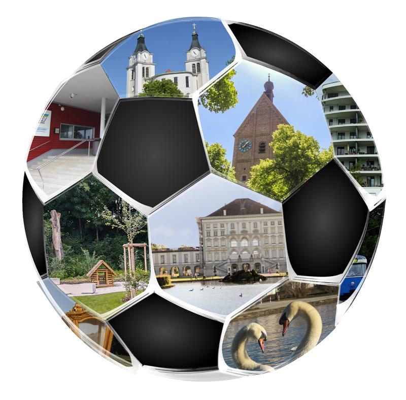 Hirschgarten-Gottesdienst 2014 - der Ball