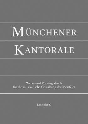 Münchener Kantorale, Werkbuch Bd. C