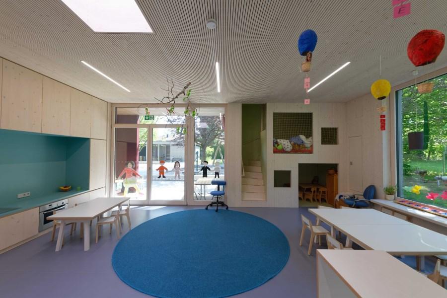 Kindergarten St. Korbinian Gruppenraum 1