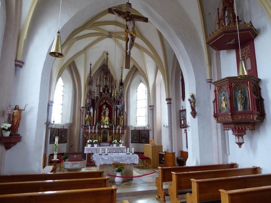 St. Vitus in Törring von innen