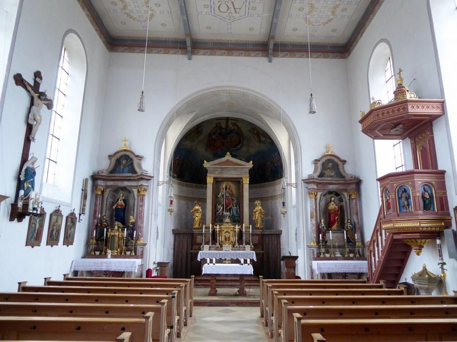 Innenansicht von St. Florian