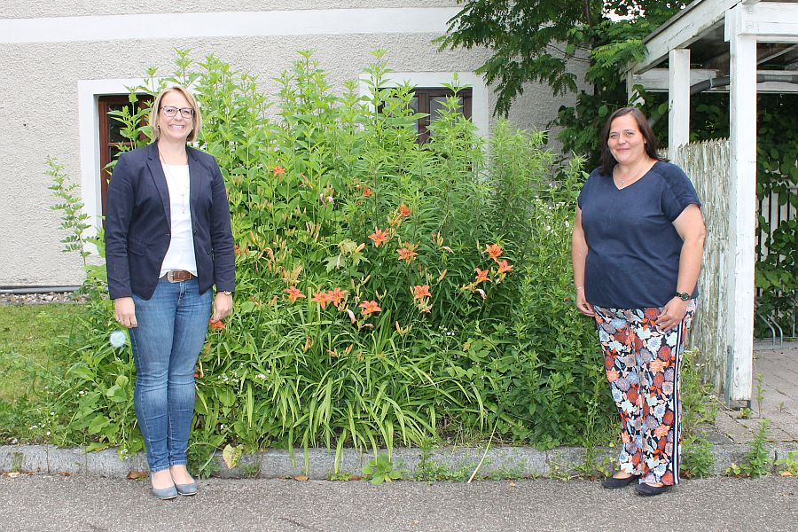 Steffi Penker und Anna Rieß-Gschlößl