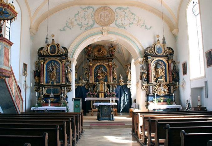 St. Johannes Innenansicht