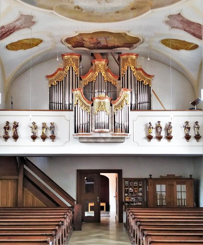 St.Johannes-Orgel-Empore