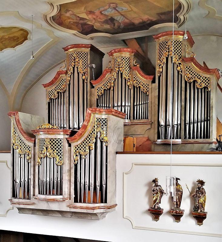 St.Johannes-Orgel Seitenansicht