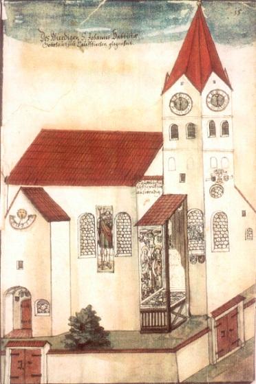 St.Johannes, Wappenbuch, Kirche