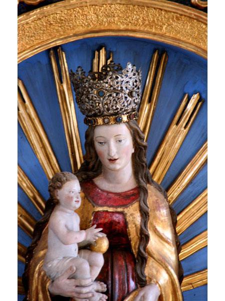 St.Johannes, Seitenaltar, Maria