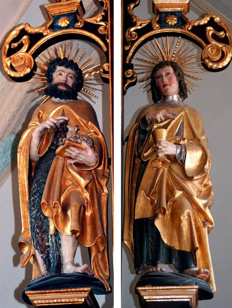 St.Johannes, Täufer und Evangelist