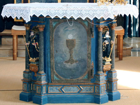 St.Johannes, Volksaltar
