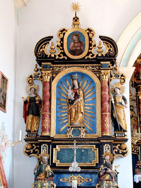 St.Johannes, linker Seitenaltar