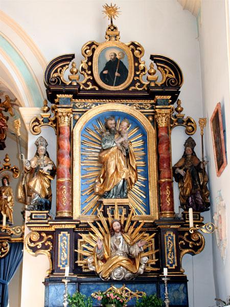 St.Johannes, rechter Seitenaltar