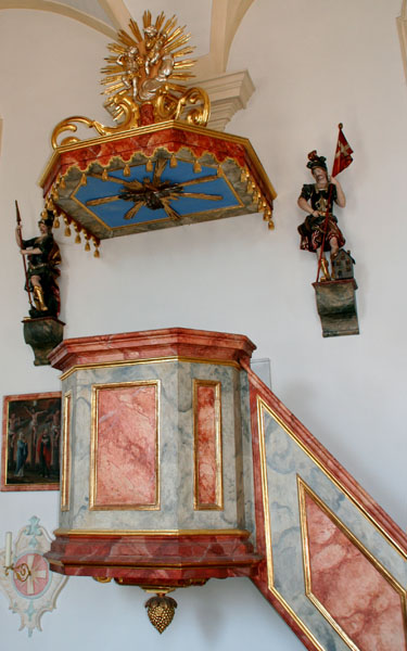 St.Johannes, Kanzel