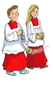 Weihrauchdienst der Ministranten