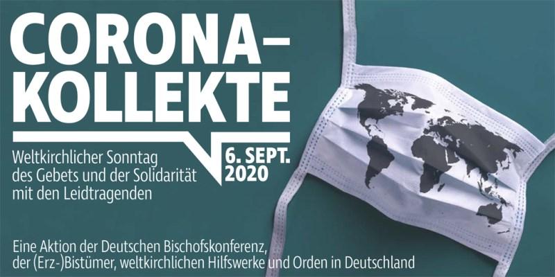 Banner Corona-Kollekte 06. September 2020