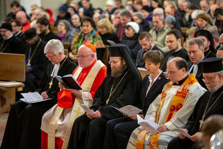 Geistliche bei Gebetswoche 2019