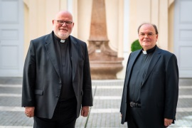 Besuch beim Augsburger Bischof Meier