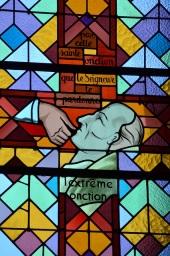Kirchenfenster Krankensalbung