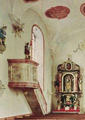 St.Johannes, Kanzel ohne Schalldeckel