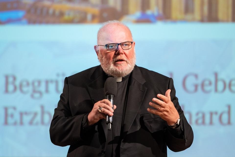 Reinhard Kardinal Marx, Erzbischof von München und Freising bei der Auftaktveranstaltung zum Strategieprozess