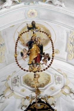 Albertaich, St. Jakobus der Ältere, Rosenkranzmadonna, 1630,