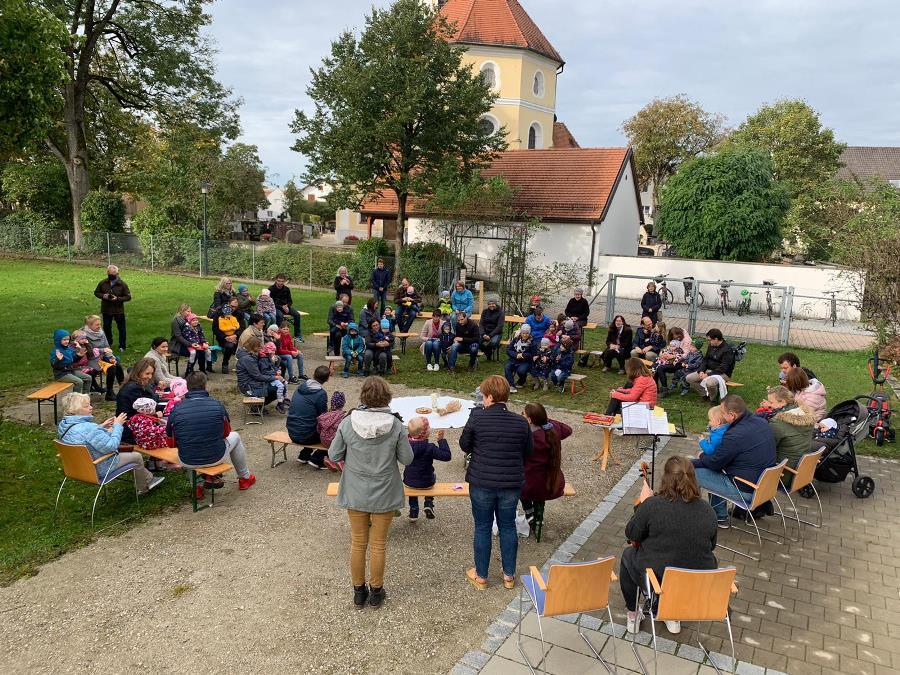 2020 Kinderkirche Erntedank Langenpreising