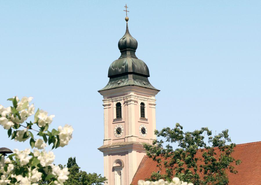 Die Pfarr- und Wallfahrtskirche Maria Tading