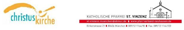 Logos Vinzenz und Christuskirche